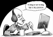 My first blogging mistake
