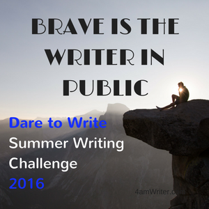 Dare to Write Summer Writing Challenge 2016