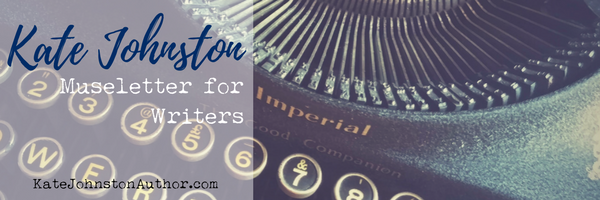 Sign up for story coach Kate Johnston's Museletter for Writers for actionable writing tips and value-packed content